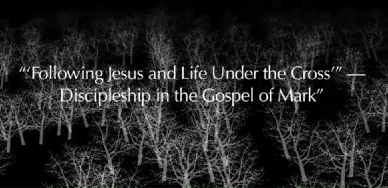 Lay Bible Institute: Gospel of Mark