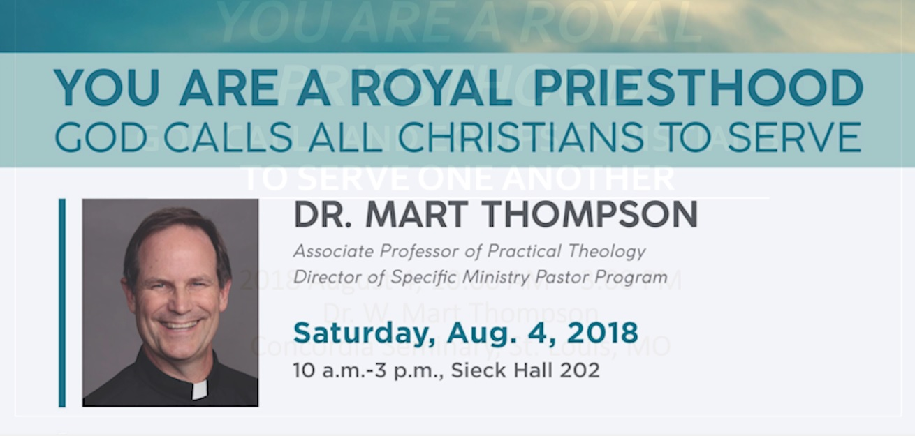 Lay Bible Institute: You are a Royal Priesthood