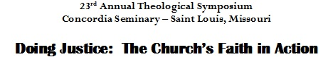Days of Theological Reflection 2012