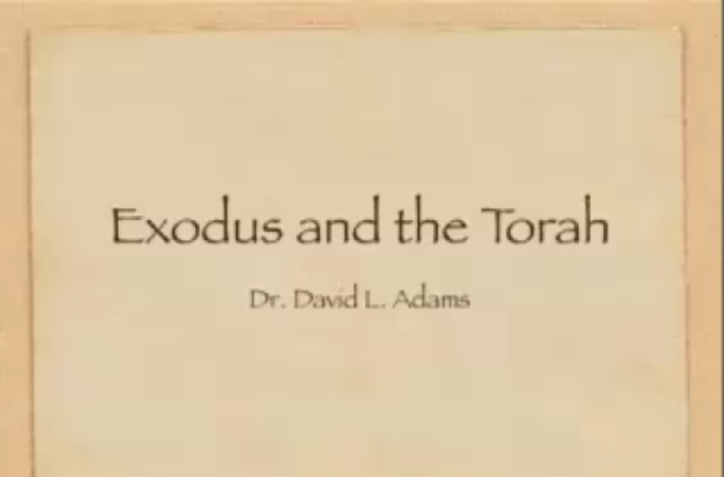 Exodus and the Torah
