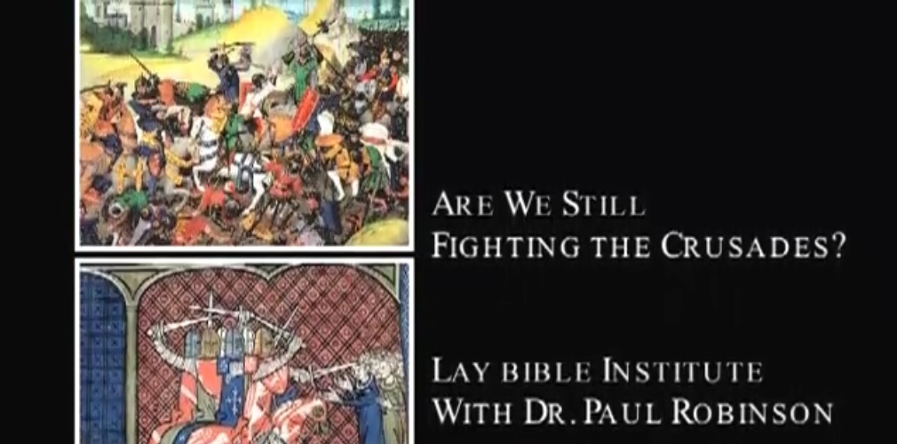 Lay Bible Institute: Still Fighting Crusades?