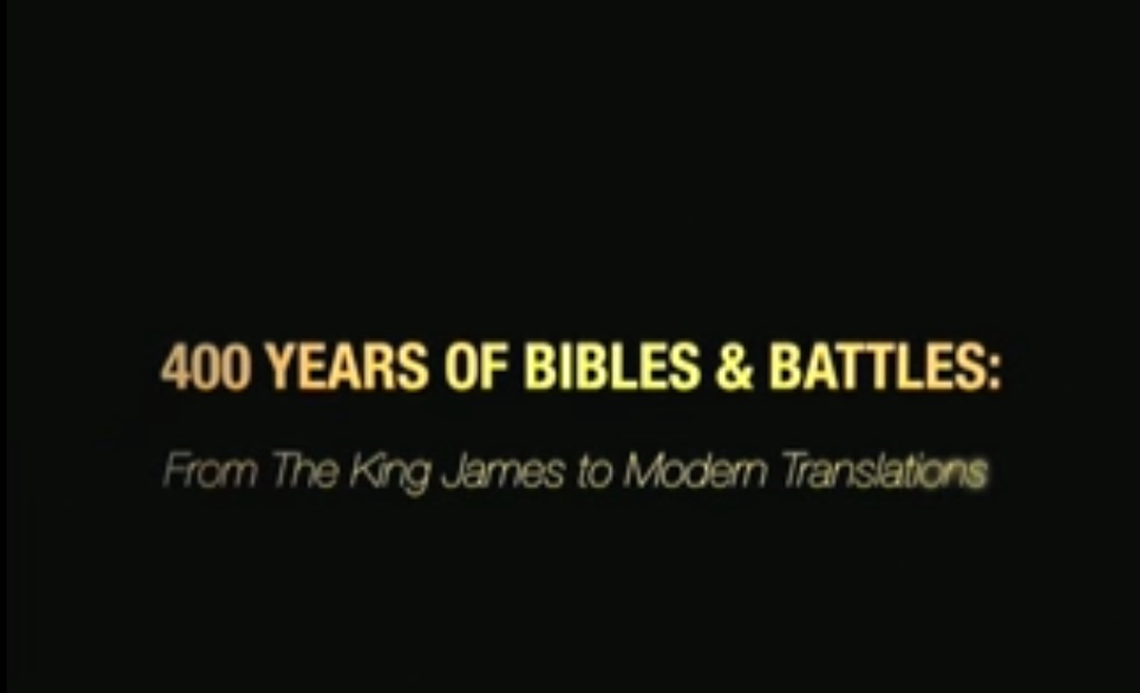 Lay Bible Institute: 400 Years Bibles & Battles