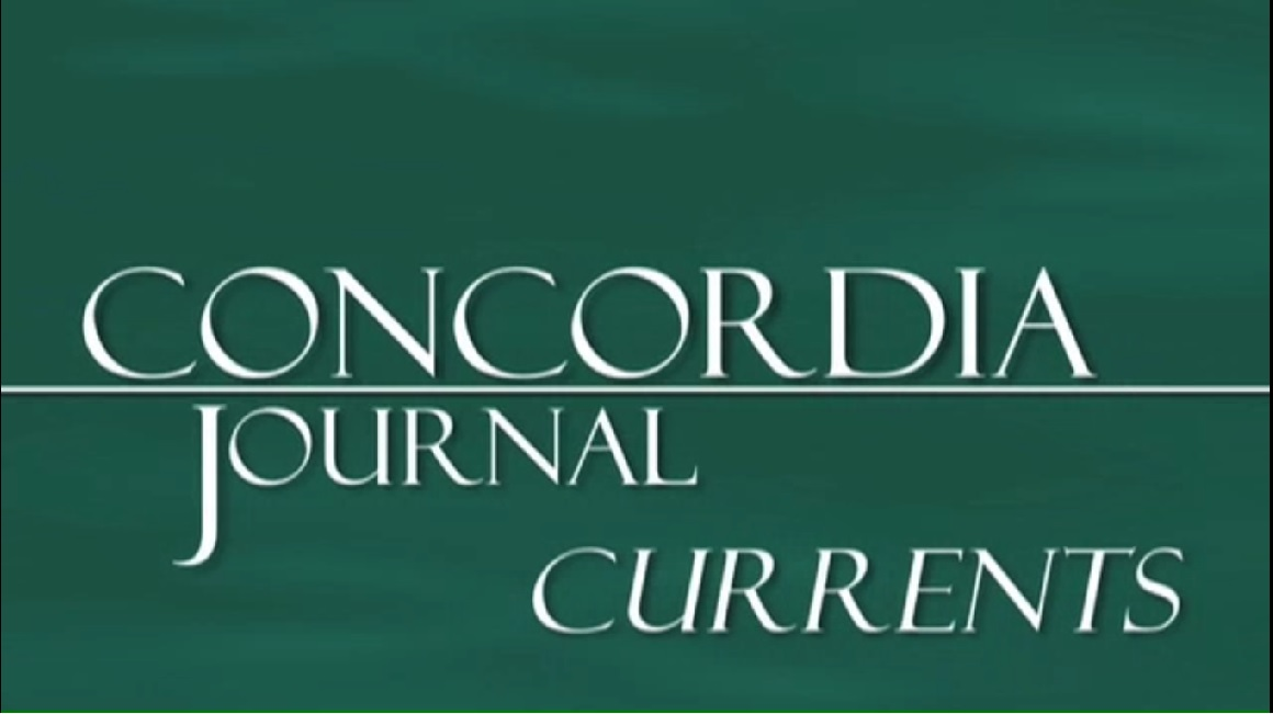 Concordia Journal Currents