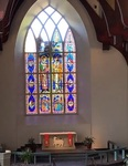 Chapel stained glass windows removal by Dale Ward
