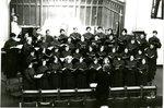 Choir in old chapel