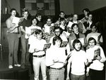 choir practicing