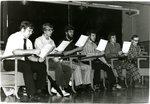 Concordia Seminary Chorus practice 1975
