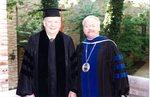 Commencement 1996 President John Johnson