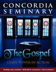 Concordia Seminary magazine | Winter 2014