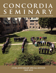 Concordia Seminary magazine | 175th Anniversary by Jeffrey Kloha