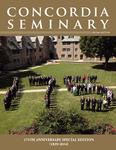 Concordia Seminary magazine | 175th Anniversary
