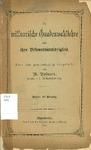 The missourische Gnadenwahllehre und ihre Befenntniswidrigfeit by W Rohnert