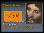 004b. Chapter 3, The Four-Fold Gospel by Jeffrey Kloha