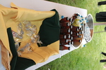 Refreshment table at the groundbreaking for the library renovation.