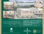1-Library Renovation Groundbreaking Program by un known