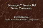 Encuentro 04 - Mateo, Evangelista, Co by Roberto Huebner