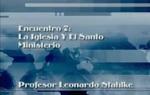 Encuentro 07 - La Iglesia Y El Santo by Leonardo Stahlke